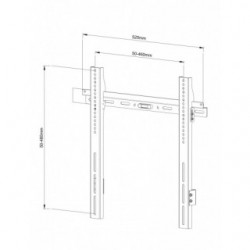 Suporte LCD/Plasma Fitek FF 37