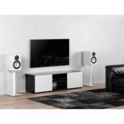 Móvel TV Sonorous TRD-150 GBLK-GWHT